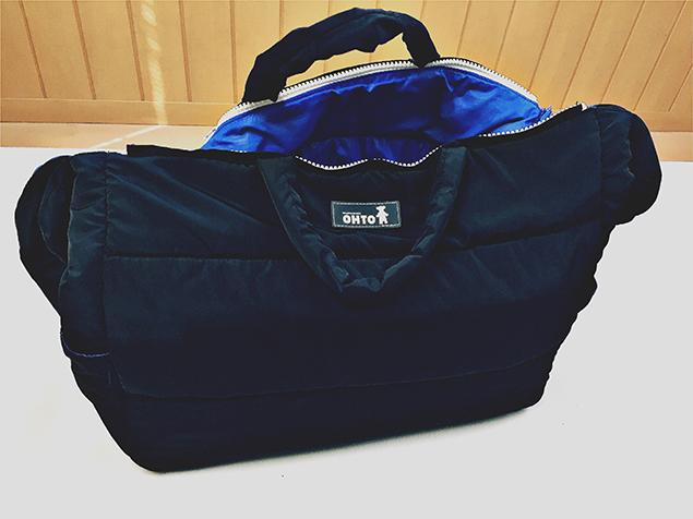 シャキッと自立するようになったバッグ