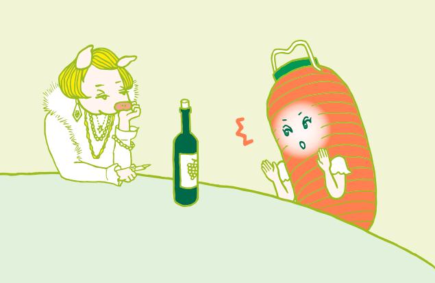 美人オネエの社長から任務を言い渡される、赤ちょうちんちゃんのイラスト