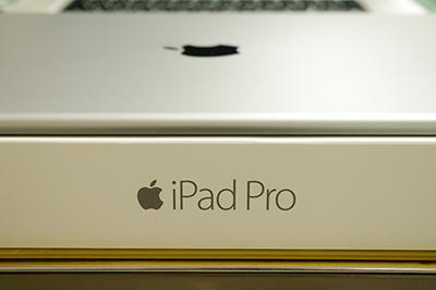 開封したiPad Proの写真
