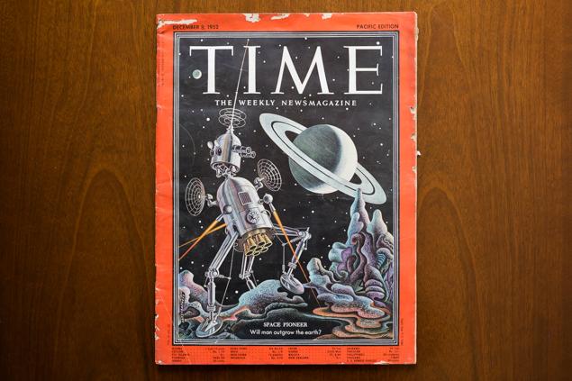 「1952年12月発行のTIME」の写真