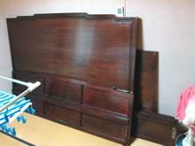 キングサイズベッドの木枠