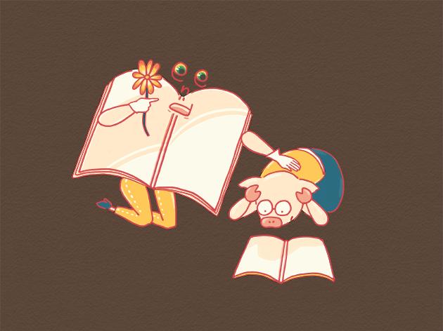 エンディングノートが書けずに頭を抱えるイラスト