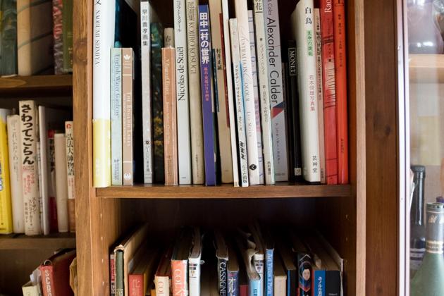 芸術関係の本の写真