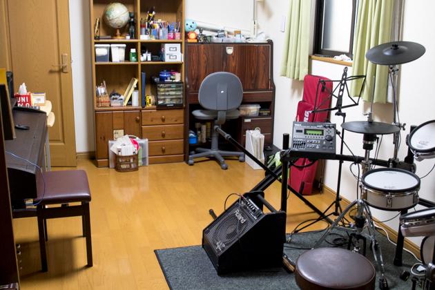 私の机周辺の写真