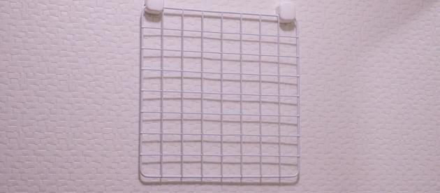 セリアの29.5cm×29.5cmのワイヤーネット