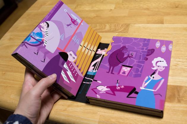 ピンクパンサーフィルムコレクションの写真(開いたところ1)