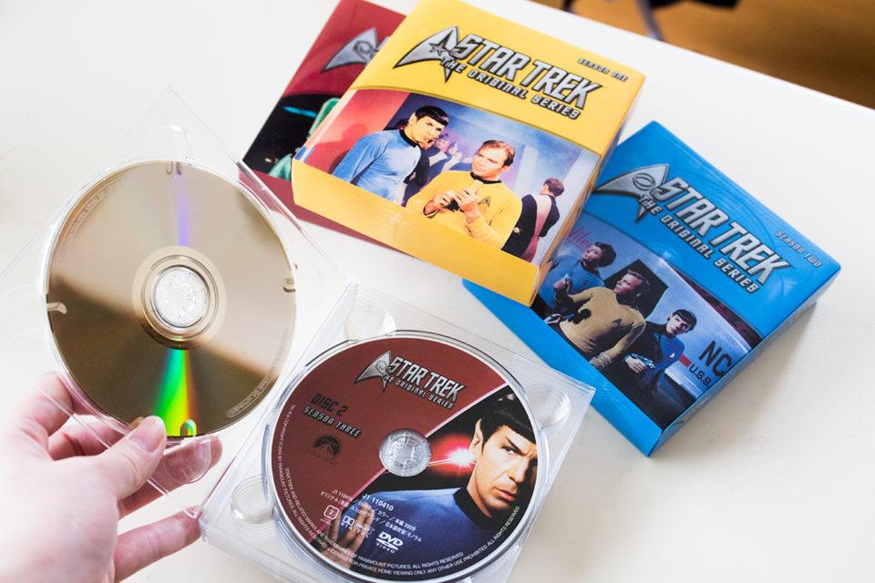 スタートレックオリジナルシリーズのDVDボックス