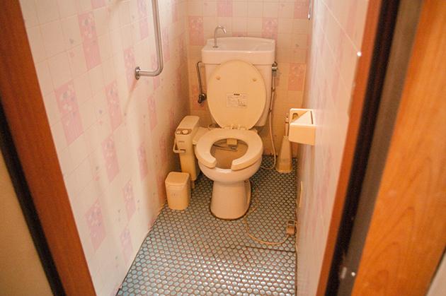 スッキリピカピカになったトイレ