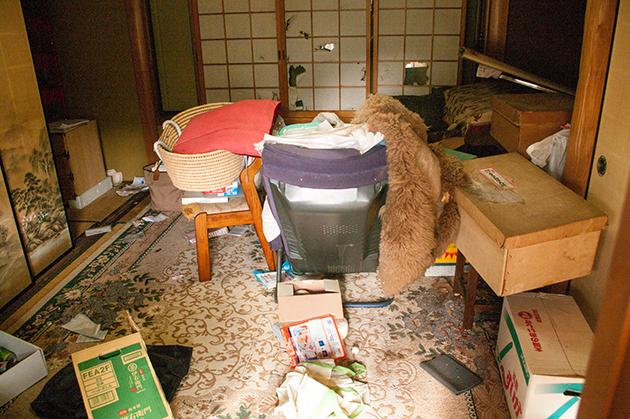 片付け・大掃除前の和室