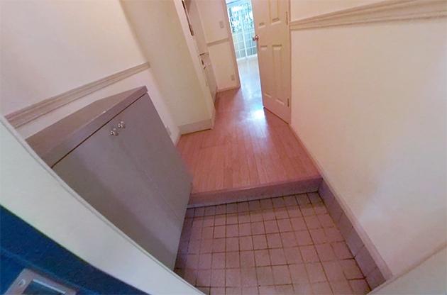 汚部屋の玄関のアフター写真