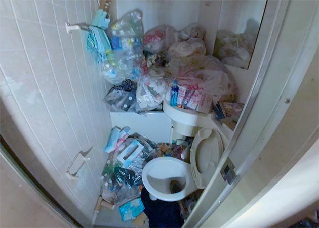 トイレ・バスルームのビフォー写真
