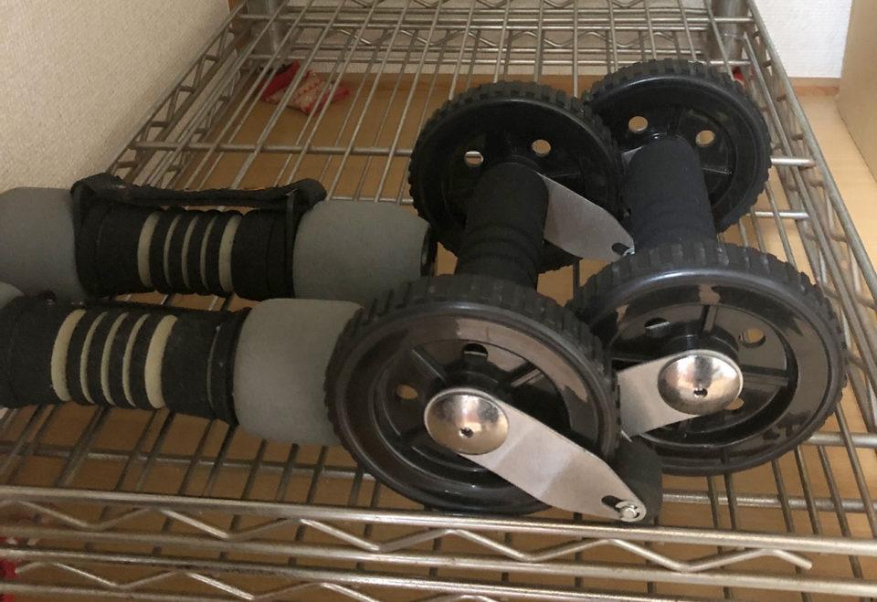 筋トレの道具の写真