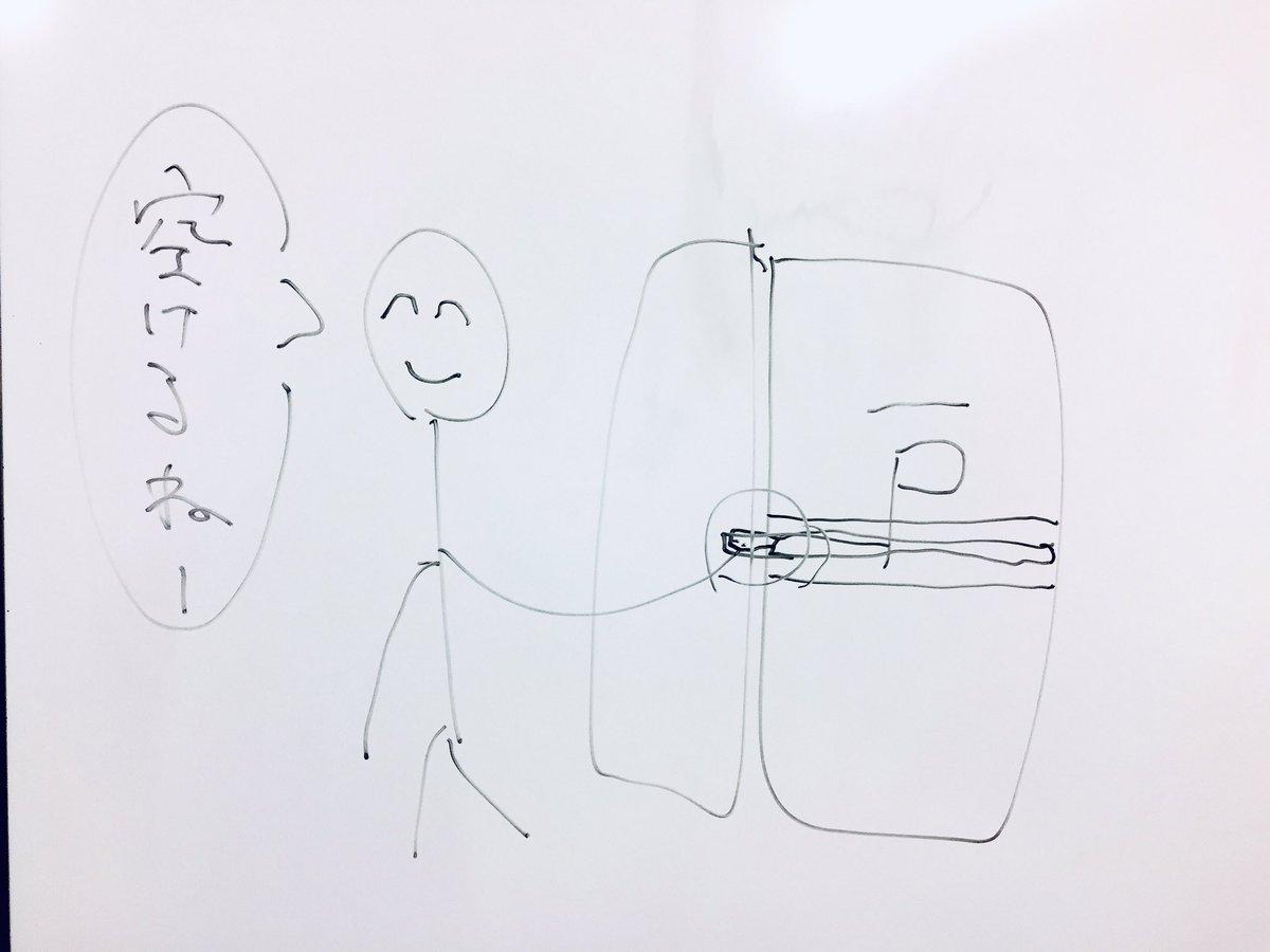 スタッフの竹内のイラスト