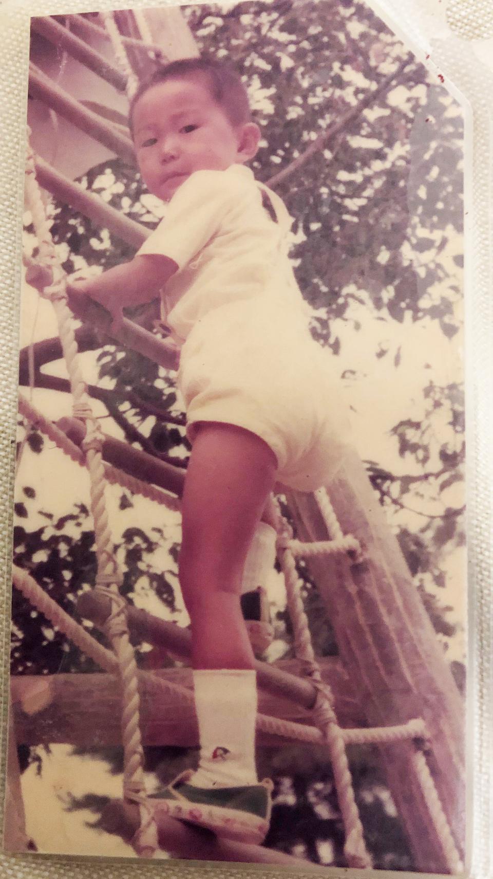 子供の頃の自分の写真