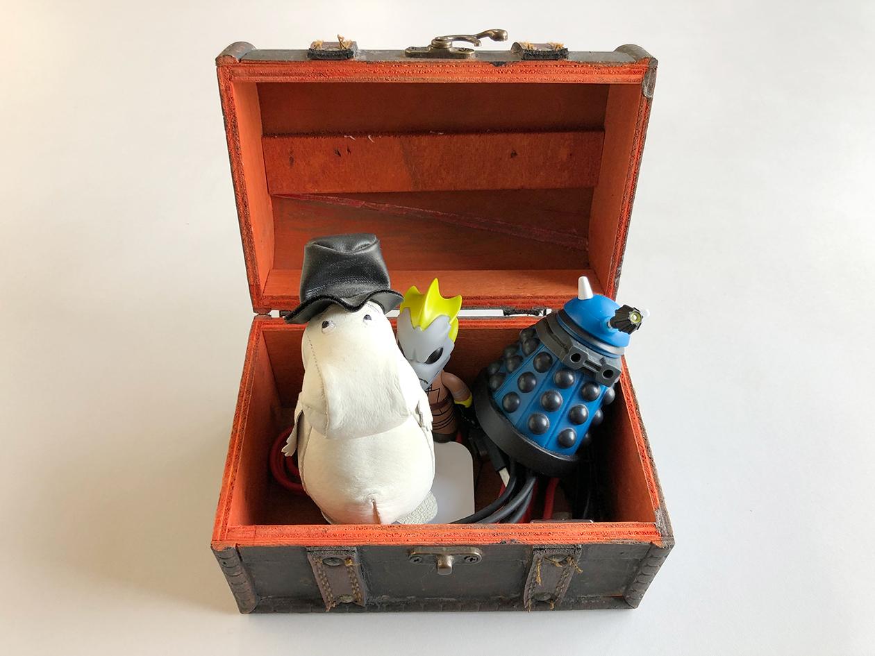 宝物の箱の写真