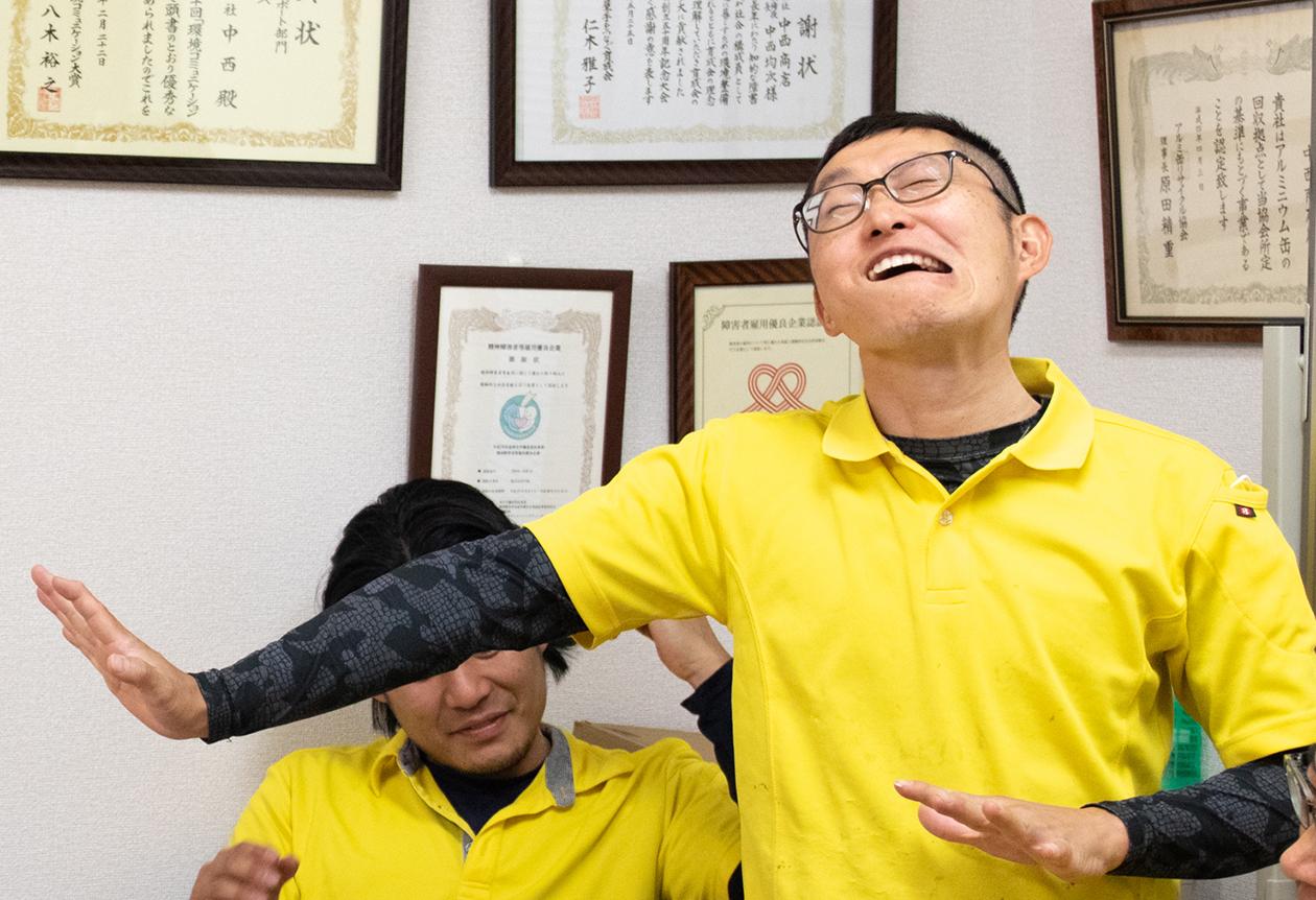 スタッフの岡本の写真2