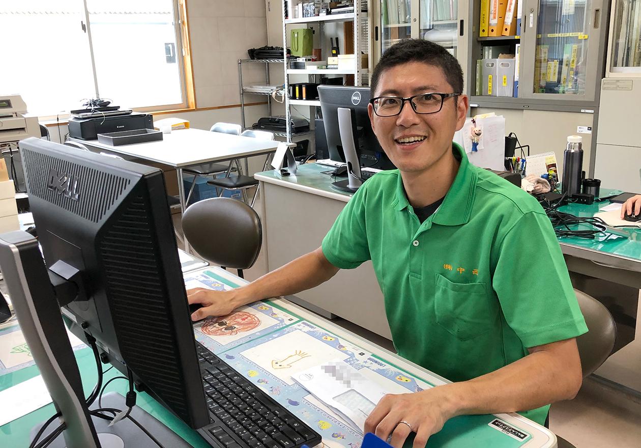 スタッフの小田の写真