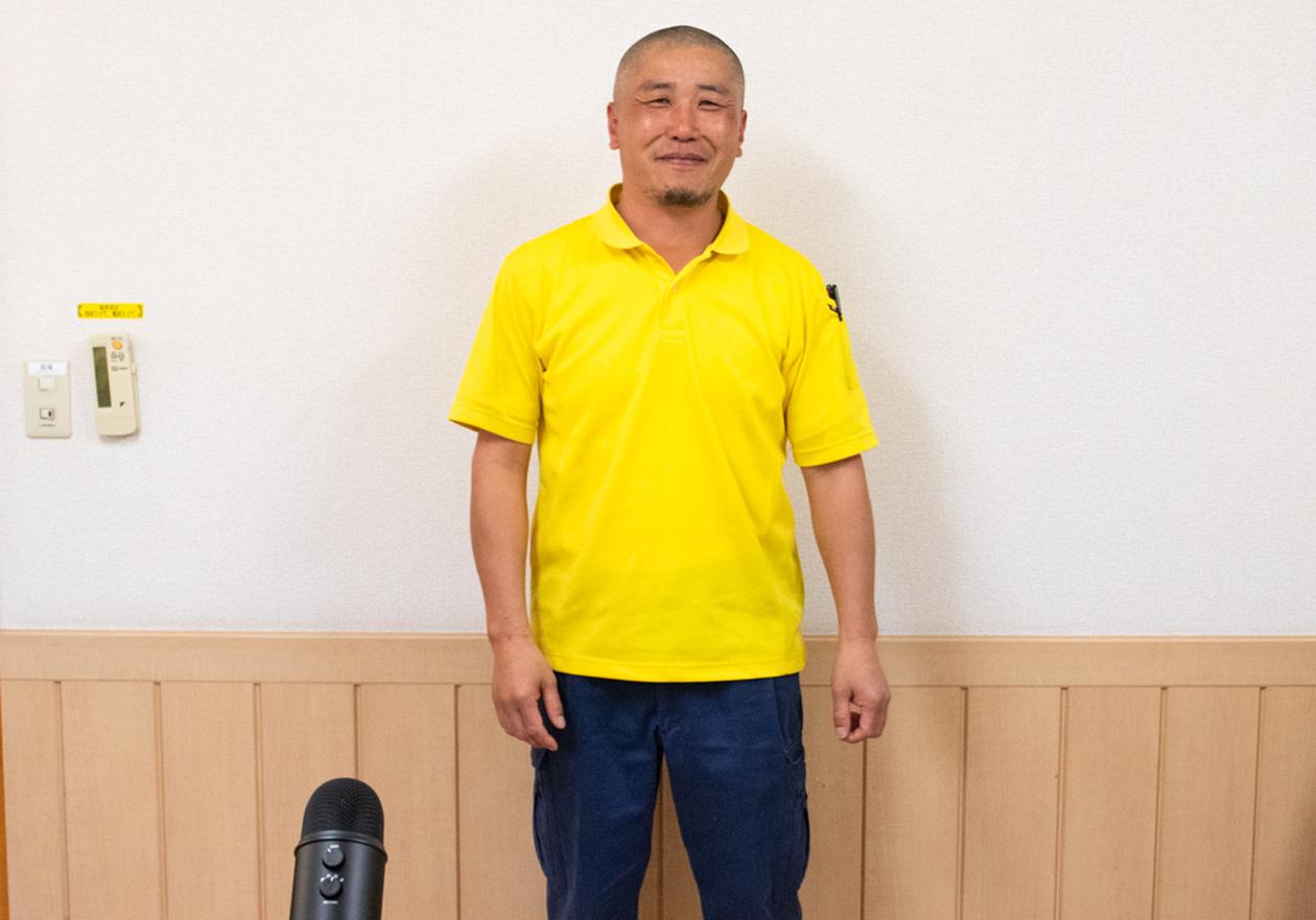 スタッフの竹内の写真