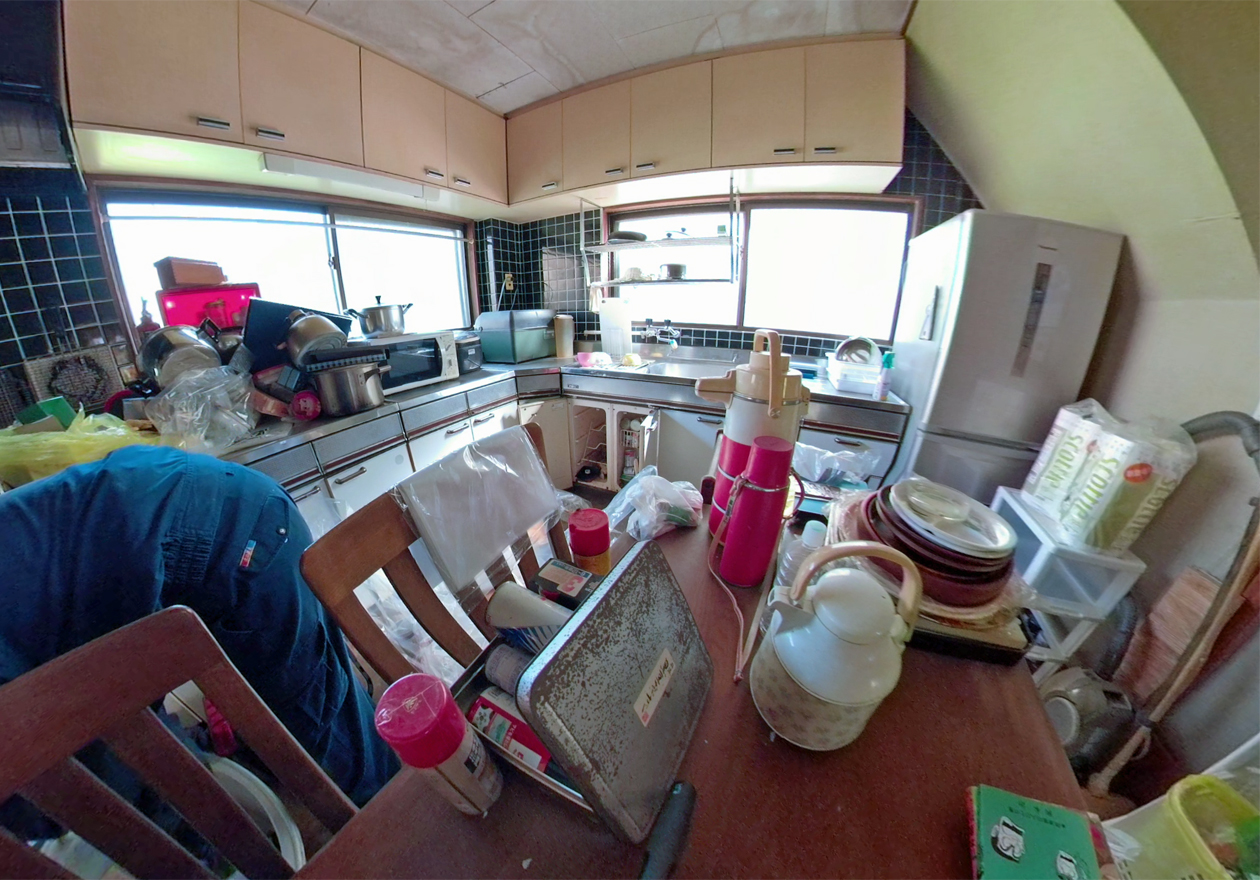 キッチン周りの 写真