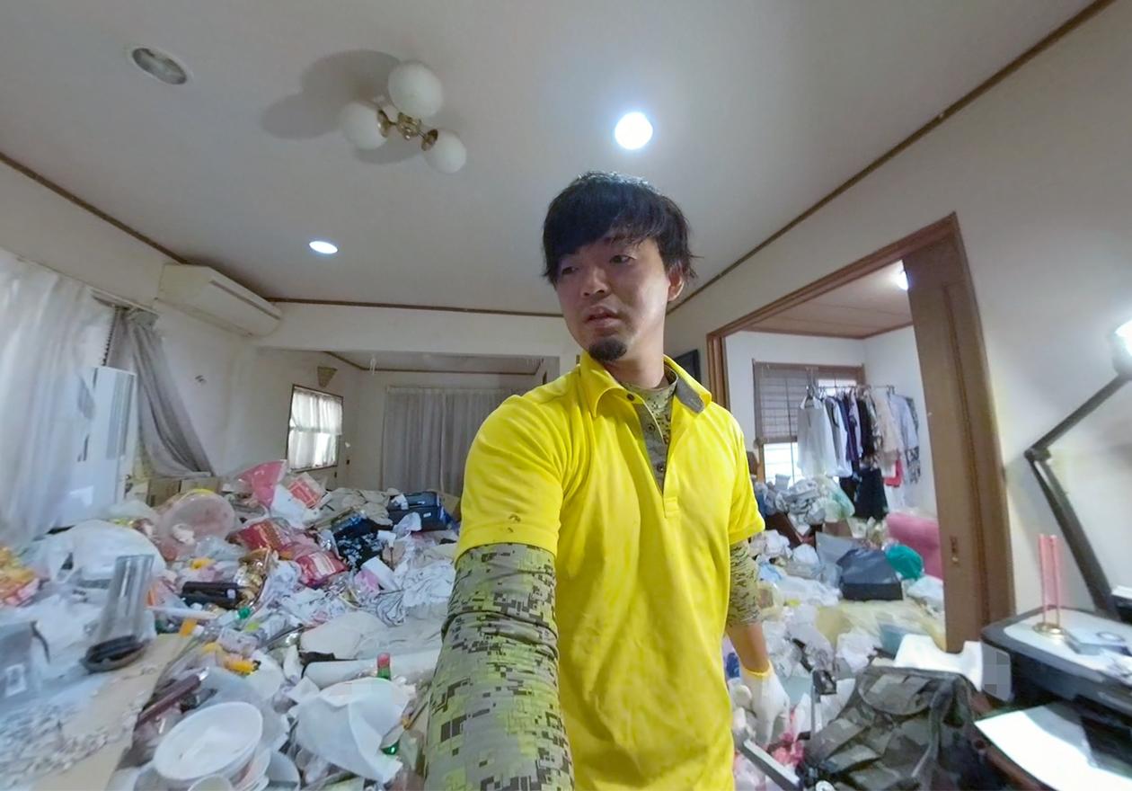 ゴミ屋敷の写真