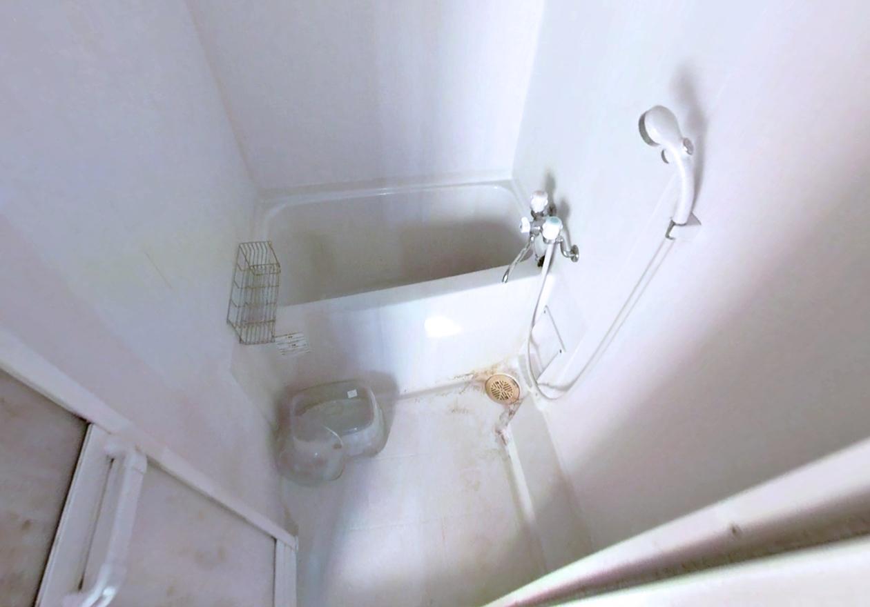 清掃後のお風呂の様子
