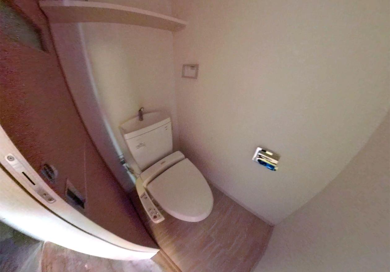 清掃後のトイレ写真