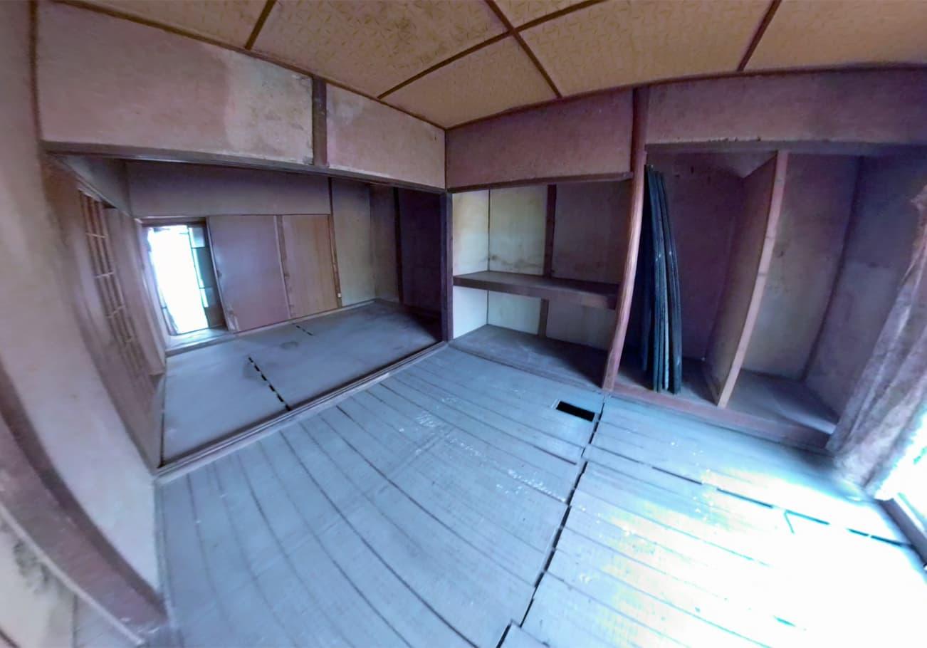 瀬戸市3DK ゴミ屋敷片付け後のお部屋の様子