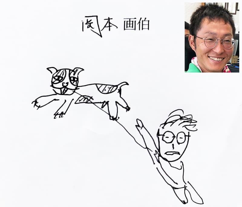 岡本の書いたイラスト