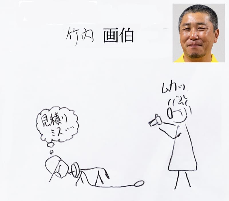 竹内の書いたイラスト