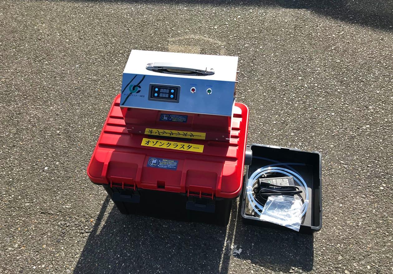 オゾン発生器の写真