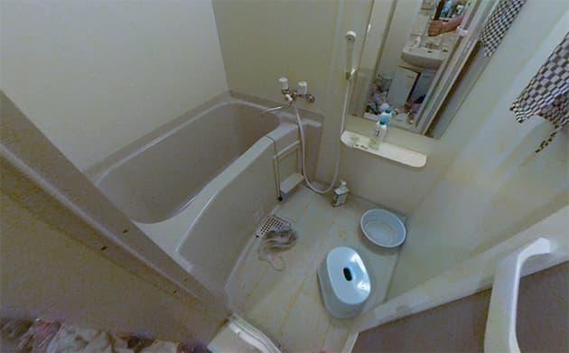 お風呂のビフォー写真