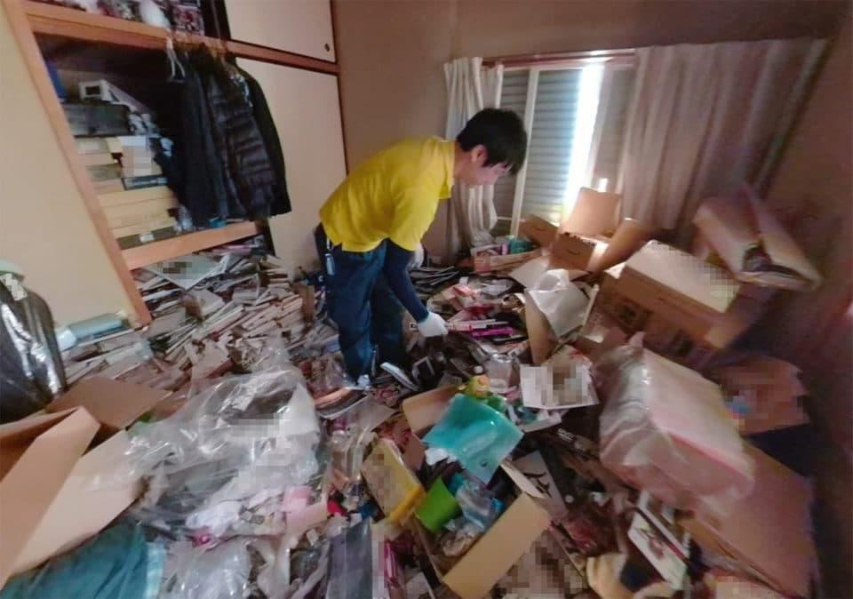 資源系ゴミ屋敷の写真