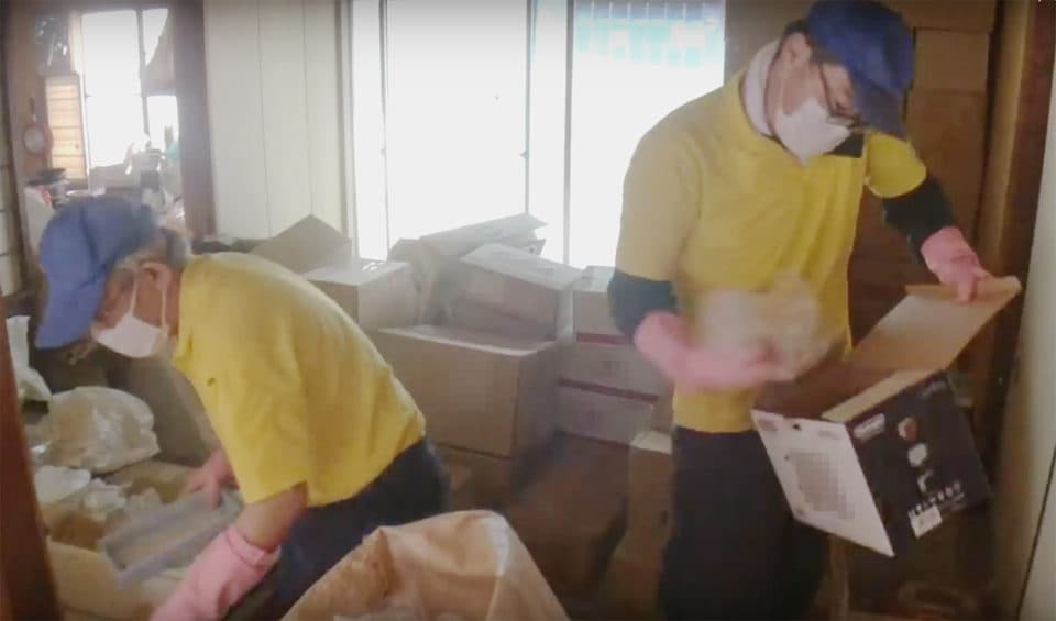 倉庫系ゴミ屋敷の写真