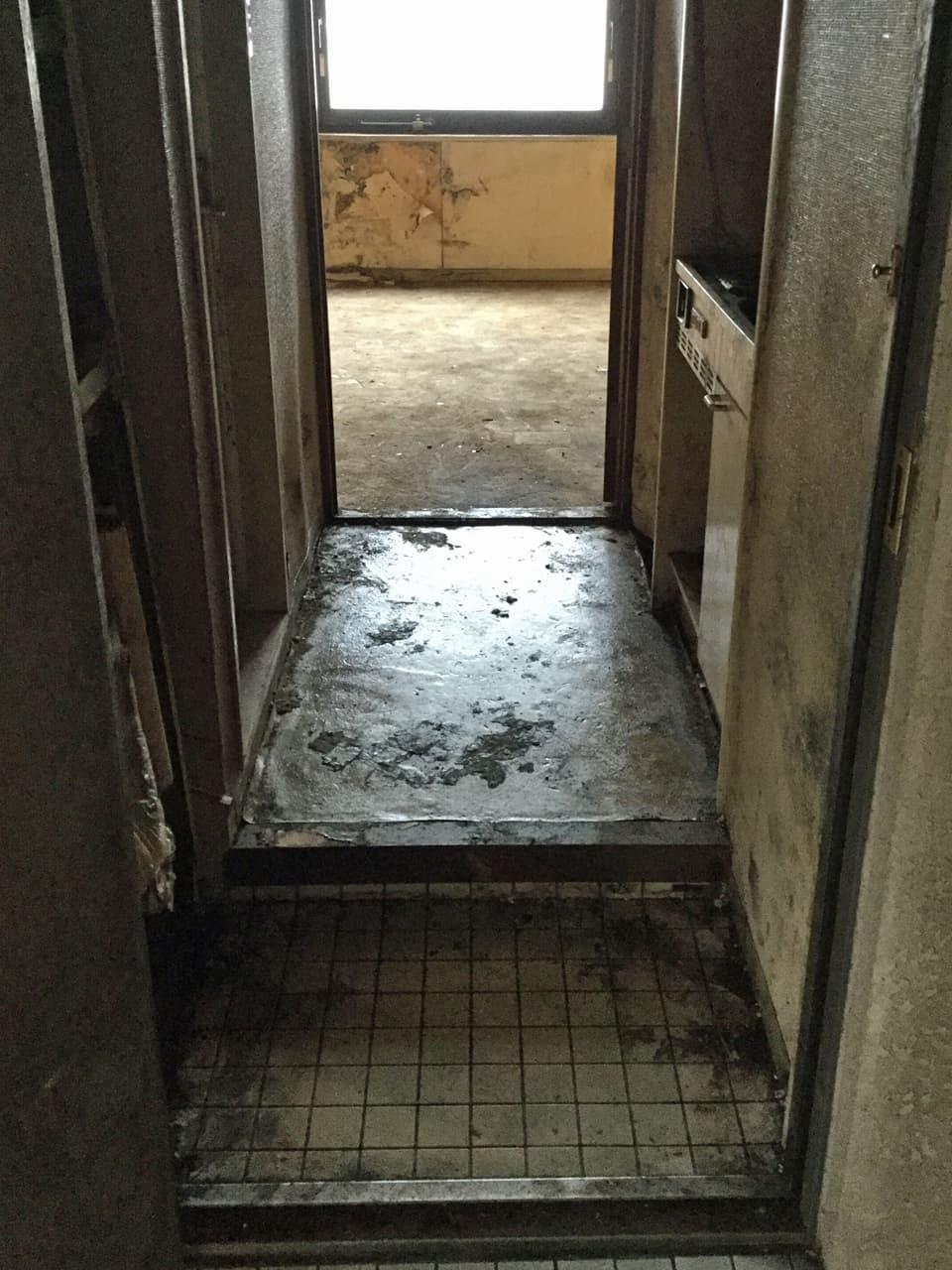 片付け後の玄関の様子