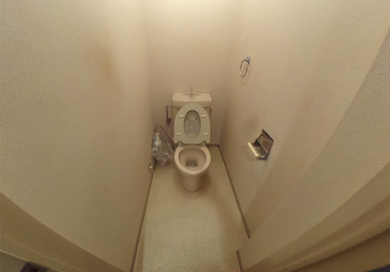 片付け完了時のトイレの様子