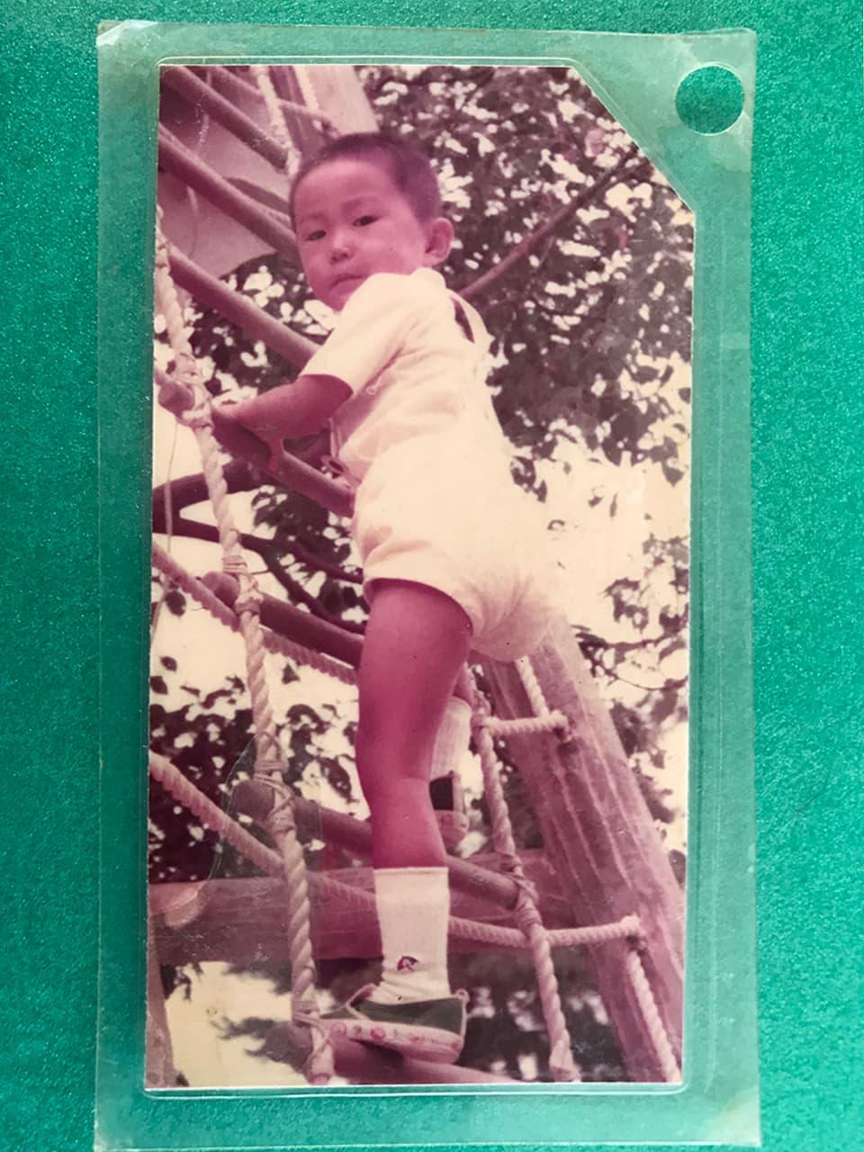 岡本の小さいときの写真