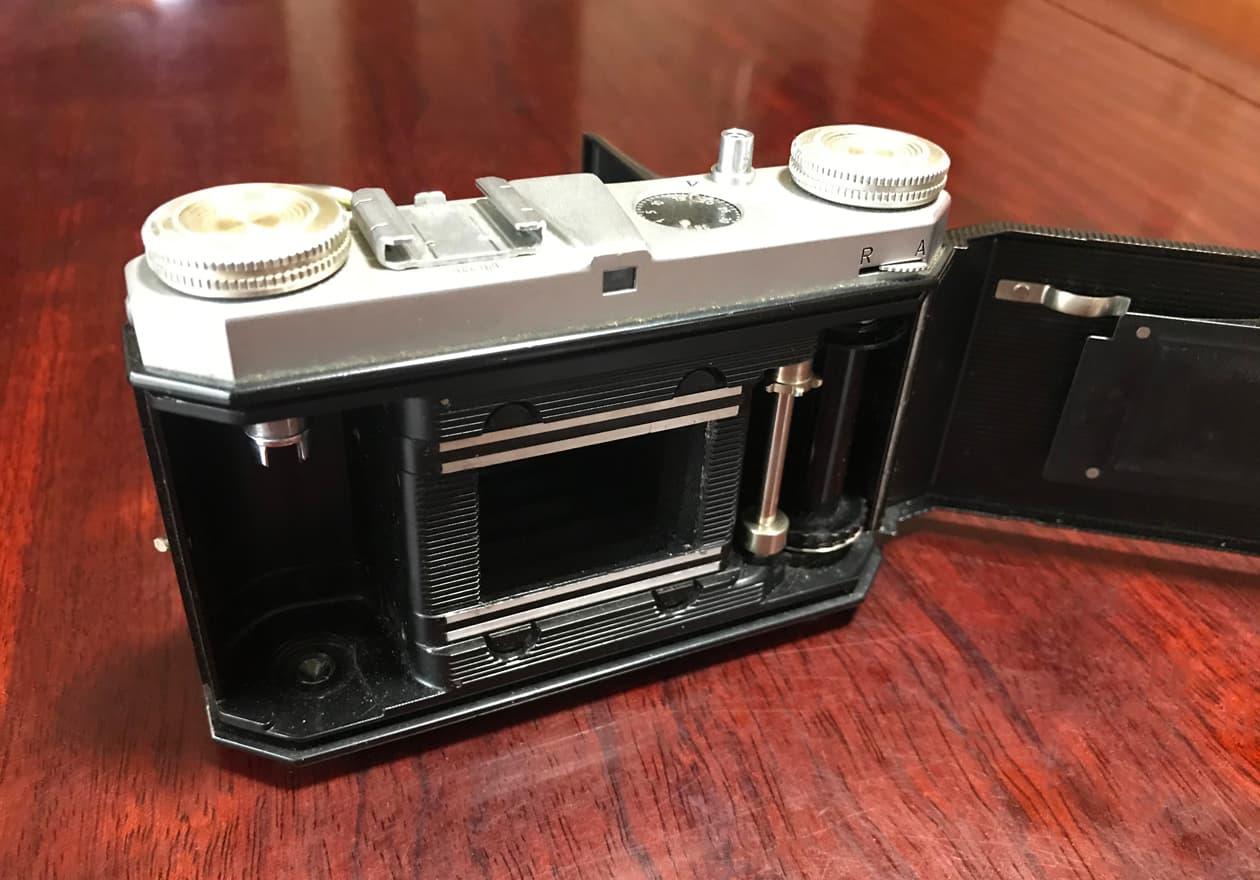 カメラの内部の画像