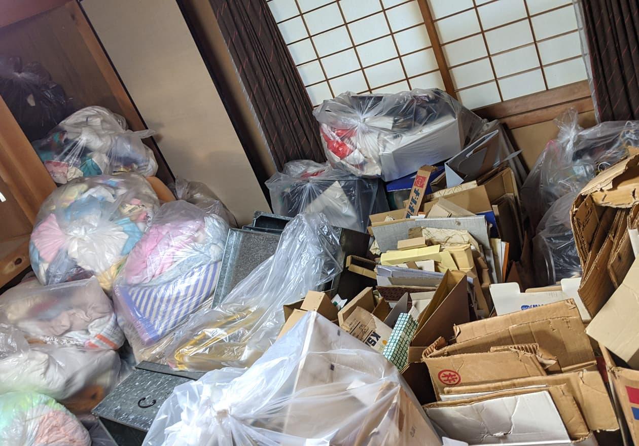 母屋に移動した資源の写真