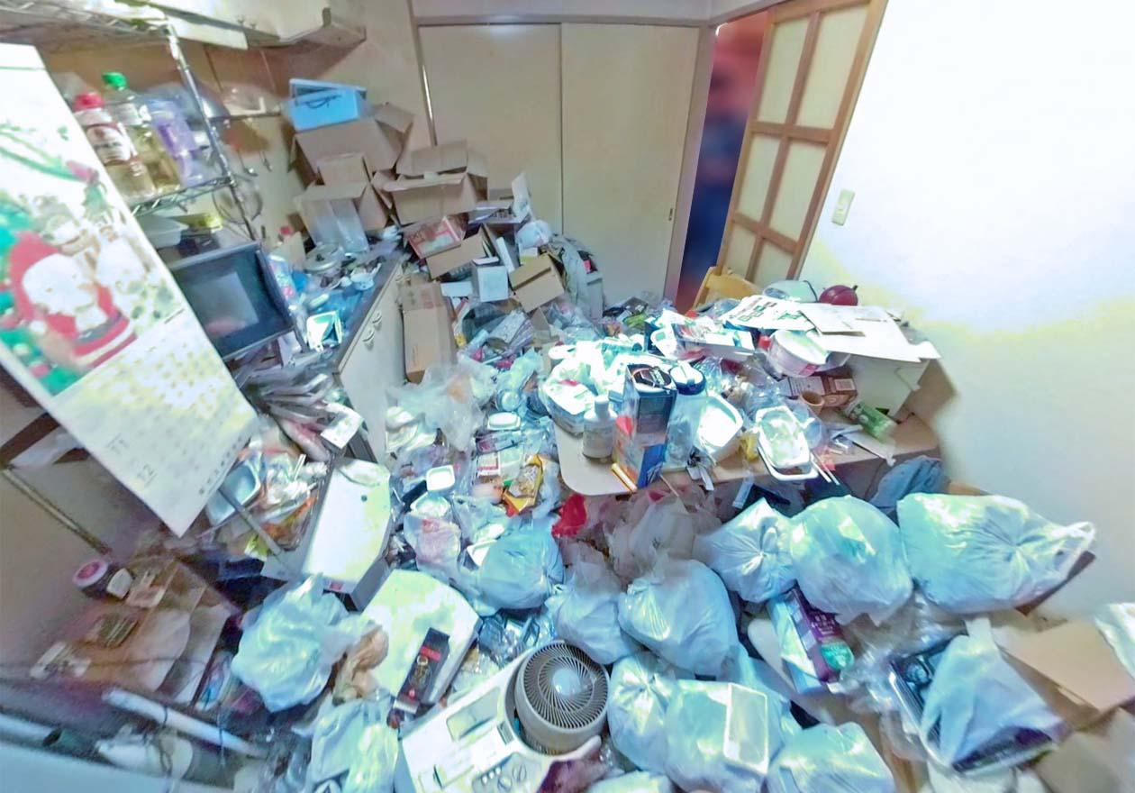 ゴミ屋敷のお部屋写真2