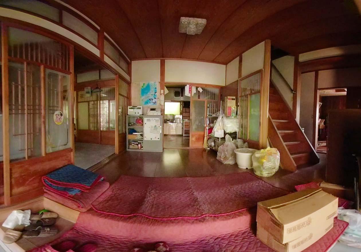 日本家屋の玄関の写真